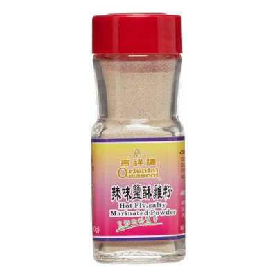 Oriental Mascot, Hot flavor salty marinade powder, 2.1 Ounce