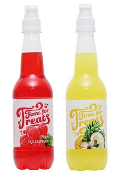 Victorio Kitchen Products Victorio Time for Treats Snow Cone Syrup 2 Pack Bundle Red Raspberry and Pina Colada