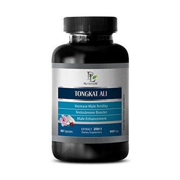 Enhanced Performance - TONGKAT ALI 200:1 PREMIUM EXTRACT 400mg - Testosterone Natural - 1 Bottle 60 Capsules