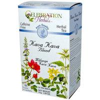 Celebration Herbals Kava Kava Blend Herbal Tea, 24 count, 1.09 oz, (Pack of 3)