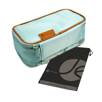 JAVOedge Double Sided Makeup Cosmetic Bag and Jewelry Travel Multi-Function Organizer *NEW SIZE*(8