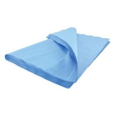 McKesson 488 Sterilization Wrap Blue Single Layer Cellulose 24 X 24 Inch - 5 Count