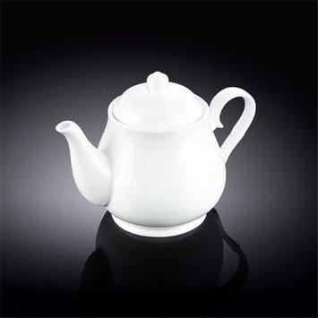 Wilmax 994021 550 ml Tea Pot White - Pack of 36