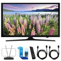 Samsung 50-Inch Full HD 1080p LED HDTV - UN50J5000 w/ TV Cut the Cord Bundle
