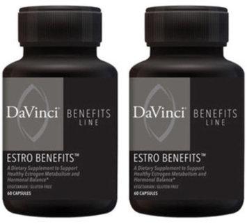 Davinci Labs - Estro Benefits 60 Capsules 0221952.060 Exp.9.18+ SD