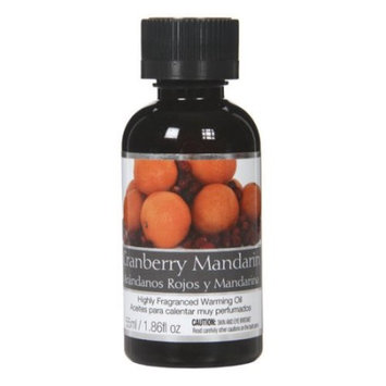 Elegant Expressions Concentrated Cranberry Mandarin Fragrance Oil for Aromatherapy, 2 Ounces