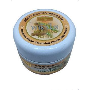 1 Unit X Tamarind Facial Cleansing Cream Plus Herbs, 30 g. (Whitening Lightening Lighten Reduce Dark Spots)