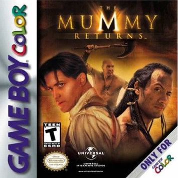 Universal Mummy Returns GBC