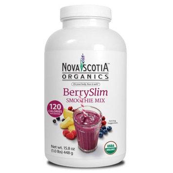 Nova Scotia Organics BerrySlim Smoothie Mix Powder, 15.8 Oz