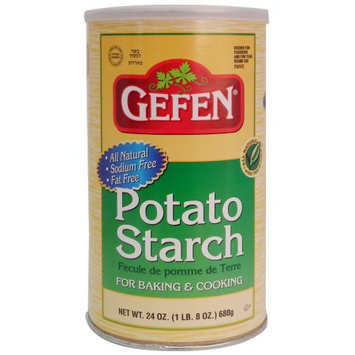 Gefen Potato Starch Canister, Passover, 24 oz