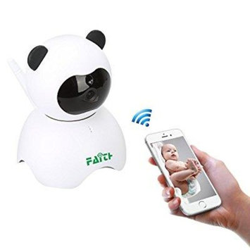 faith 960p home security ip camera wireless smart wifi panda camera wi-fi audio record surveillance baby monitor for android/ios/iphone/ipad(panda)
