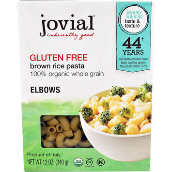 Jovial Gluten Free Brown Rice Pasta Elbows -- 12 oz