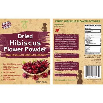 Iya Foods Llc Dried Hibiscus Powder â 20LBS