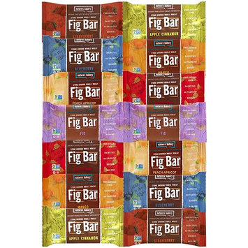 Nature's Bakery Stone Ground Whole Wheat Fig Bar Variety Pack Sampler, All Natural NON GMO Snack Food
