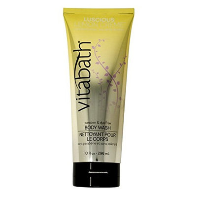 Vitabath Body Wash, Luscious Lemon Creme, 10 Fluid Ounce [Luscious Lemon Creme]