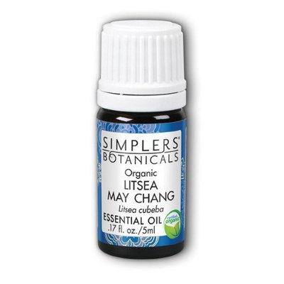Litsea May Chang Organic Simplers Botanicals 5 ml Liquid