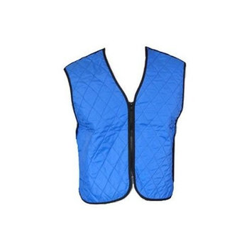 Cooling Vests Evaporative Body Cooling Garment - Blue Small