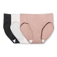 Hanes® Premium Women's Smoothing Body Toner Hi-Cut Briefs 3-Pack - Multi-Colored