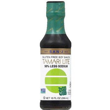 San-J Tamari Lite Gluten Free Soy Sauce, 10 fl oz, (Pack of 6)