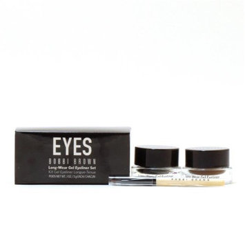 Bobbi Brown 55019190 Long Wear Gel Eye Liner - Black Ink & Sepia Ink