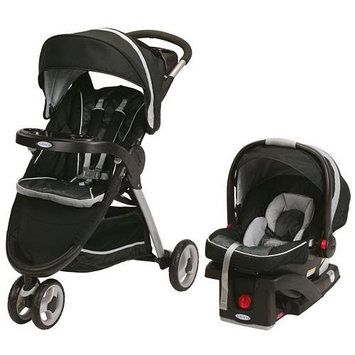 Graco Fast Action Fold Sport Click Connect Travel System - Gotham