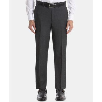 Men's UltraFlex Classic-Fit Grey Wool Suit Separates