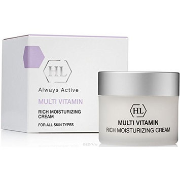 HL MultiVitamin Rich Moisturizing Cream 1.7 fl.oz, For All Skin Types