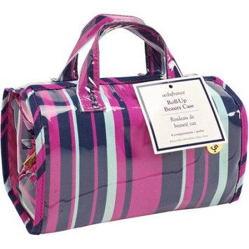 Kennedy International Inc SedaFrance Mardi Gras Stripe 4-Compartment Travel Roll-Up Bag