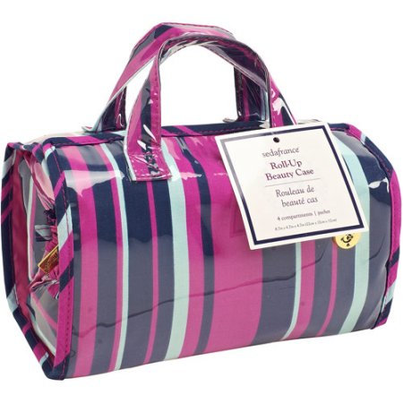 Kennedy International Inc SedaFrance Mardi Gras Stripe 4-Compartment Travel Roll-Up Bag