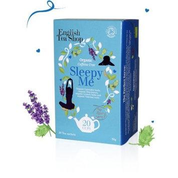 English Tea Shop Organic Caffeine Free Sleepy Me, 20 Sachet Tea Bags [Sleepy Me]