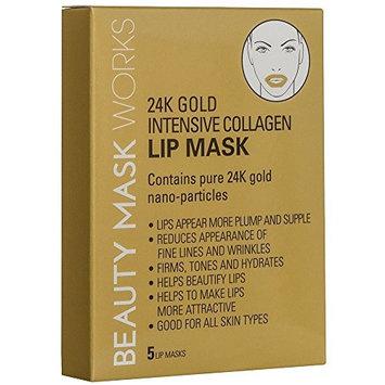 24K Gold Intensive Collagen Lip Mask 5-ct.