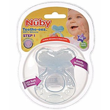 Nuby Silicone Teethe-eez Teether with Bristles