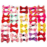 BR Baby Girls Toddler Hair Bow Grosgrain Ribbon Cute Hair Alligator Clips 1.5 Inch Barrettes - 40 Pieces 20 Pairs