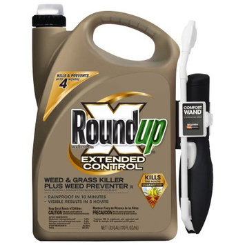 Scottsmiracle-gro Roundup Ready-To-Use Extended Control Weed & Grass Killer Plus Weed Preventer One-Touch Wand, 1.33 gal