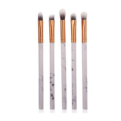 LiPing Marble Texture Makeup Brush Face Foundation Makeup Brush Premium Foundation Brush Tool Eyeliner Lip Cosmetic Brush Eye Shadow Set