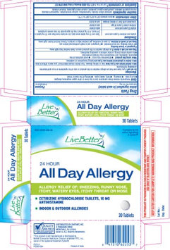 Live Better 24 Hours All Day Allergy