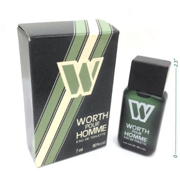 Worth Pour Homme Miniature Bottle 7ml Splash By Worth Parfums