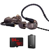 Westone UM Pro 30 High Performance In-ear Headphone (Smoke)-78489 w/ FiiO A3 Amp Bundle