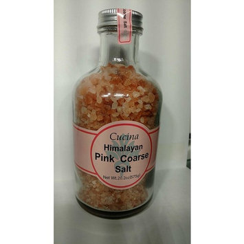 Himalayan Pink Coarse Salt, 20.2oz Glass Jar with Screw Top