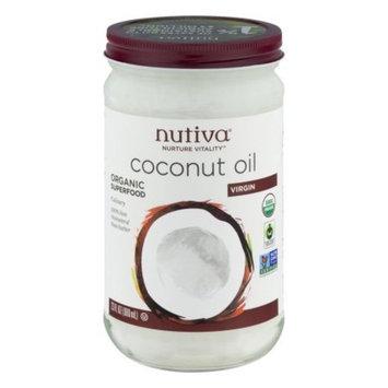 Nutiva Virgin Coconut Oil, 23 fl. oz., (Pack of 6)