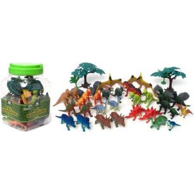 Generic 40-Piece Dinosaur Playset