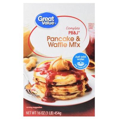 Great Value PB Pancake & Waffle Mix
