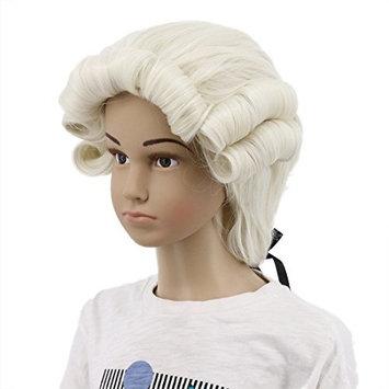 Karlery Kids Child Long Wave White Wig Halloween Costume Wig Anime Cosplay Wig