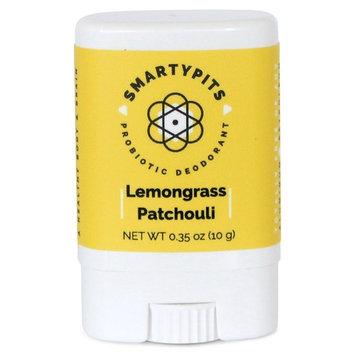 SmartyPits - Natural/Aluminum Free Prebiotic Deodorant (Lemongrass Patchouli) (Travel-Size (Single))
