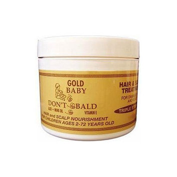 BABY DON'T BE BALD Gold Hair and Scalp Treatment 4 oz