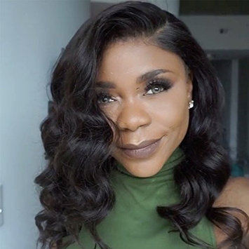 Vanessa Queen Body Wave Lace Front Wigs For Black Women Short Bob Full Lace Human Hair Wigs 150 Density(14inch lace front wig)