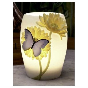 Ibis & Orchid Blue Butterfly Night Lamp