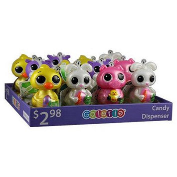 Galerie Big Eyed Light Up Candy Dispensers Filled with Candy Pieces Variety Pack, 0.3 oz, 12 count