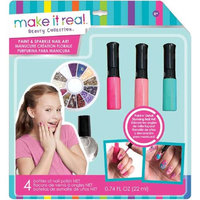 Make It Real M2322 Paint & Sparkle Blooming Creativity Nail Art Kit