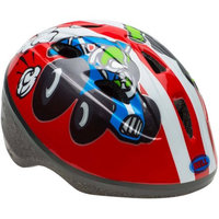 Cycle Products Co. Zoomer Red Race Cars Toddler Helmet